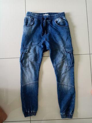 Zara men cargo jeans