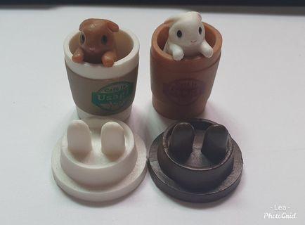 兔子_咖啡杯之兔~扭蛋小物_轉蛋_兔系列
