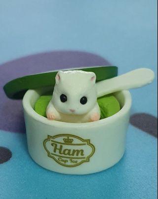 鼠~倉鼠~抹茶冰之鼠~扭蛋小物_轉蛋系列_鼠系列