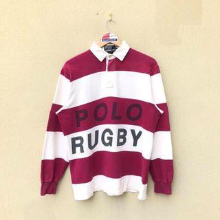 Vintage Polo Rugby Spell Out Shirt