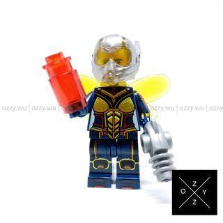 Lego Compatible Marvel Minifigures : Wasp