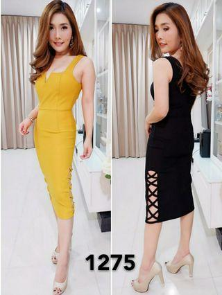 Ec Dress Rere 1275 l atasan fashion baju dress bodycon wanita