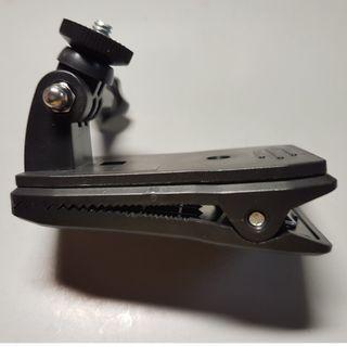 背包夾 大力夾 相機夾 1/4英吋螺絲介面(適用Insta360 One X、GoPro相機)