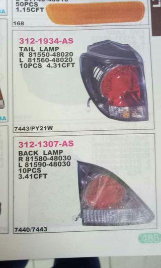 Harrier Tail Lamp
