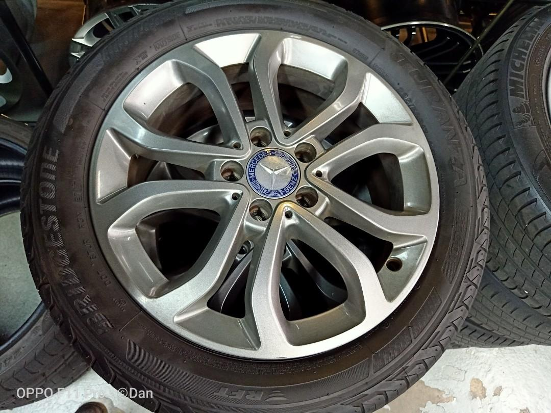 17'' Mercedes used rim and tyre