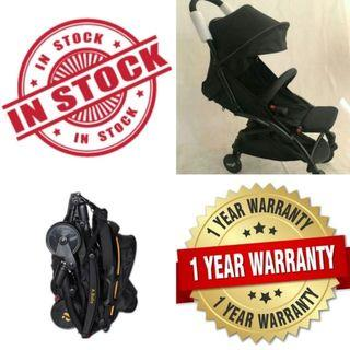 🔥CLEARANCE PROMO🔥ALDO Compatto Baby Travel Stroller With Full Accesories🧸👶💖