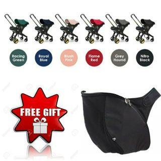 🔥CLEARANCE PROMO🔥Original DOONA Plus Infant Car Seat by Simple Parenting🧸👶💖