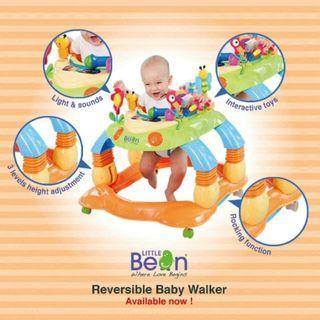 🔥CLEARANCE PROMO🔥LITTLE BEAN SITSAFE 3 in 1 Baby Walker🧸👶💖