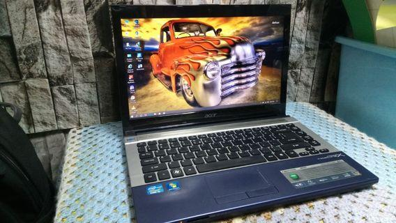 Acer i5 2nd gen Ram 4gb Hdd 500gb Hd graphic New battery