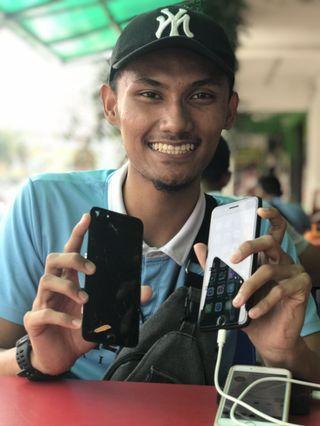 [SKRIN PECAH] DONE REPLACEMENT LCD IPHONE 7 PLUS At BANGI