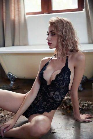 *FREE SHIPPING* [READY STOCK] Erika sexy lingerie playsuit