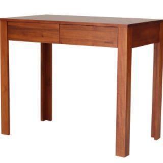 全新詩肯柚木書桌(僅桌子)
