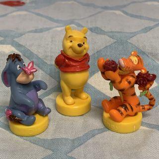 小熊維尼 跳跳虎 屹耳 小玩具