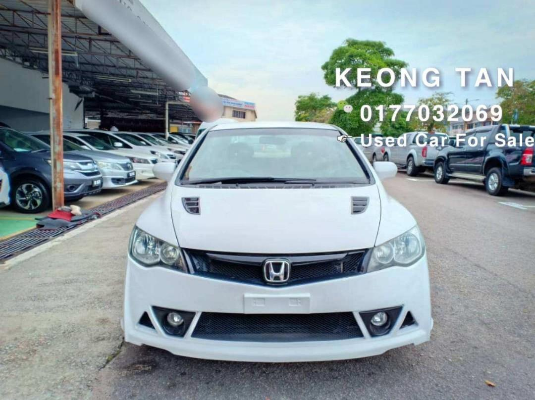 2007TH🚘HONDA CIVIC 1.8AT I-Vtec Type R RR Bodykit Cash💰OfferPrice💲Rm34,800 Only! 🔥LowestPrice🔥InJB Call📲 0177032069 Keong🤗