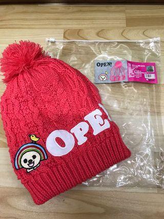 OPEN-Chan潮帽-蜜桃紅