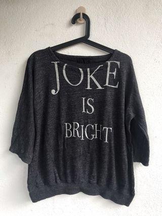 jeanasis joker grey tshirt top h&m zara