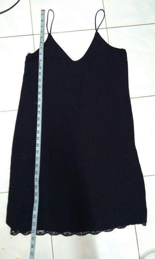Zara Black Singlet Dress