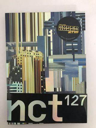 NCT 127 SUPERHUMAN ALBUM ONLY