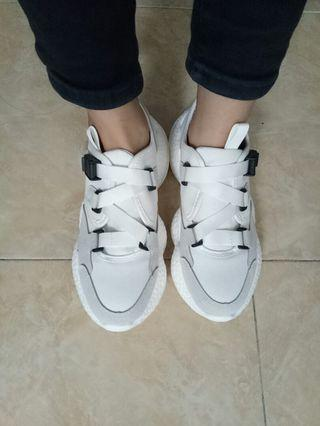 Import shoes sneakers white putih lasenora bexaa