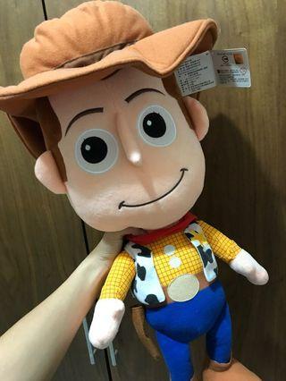 胡迪  迪士尼 玩具總動員 公仔 娃娃 布偶  TOY