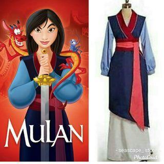 [New] Disney Mulan Warrior Halloween Costume