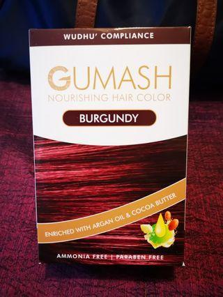 GUMASH HAIR COLOR (PATUH SYARIAH AND WUDHU COMPLIANCE)