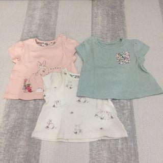 Mothercare 3 pack tee tshirts t shirt