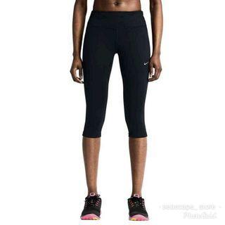 [Original] Nike Women Capri Running Leggings / Sports Tights