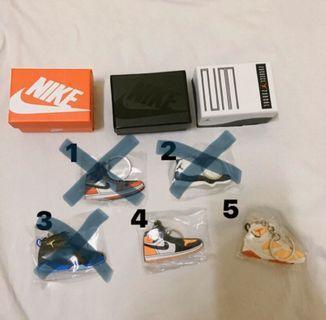球鞋吊飾 Nike Adidas 鞋盒