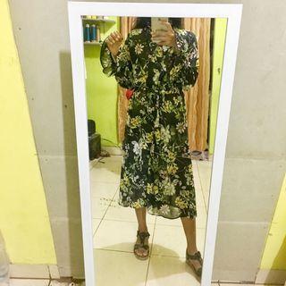 Flower Dress outer midi dress