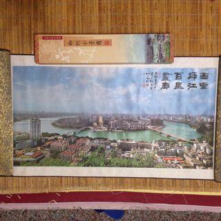柳州風景圖(純蠶絲)