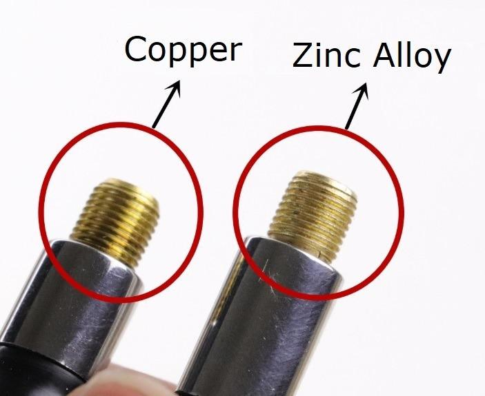 5pcs TR413C Chrome Snap-In Tyre Valve Stems with Core Pure Copper Caps Included