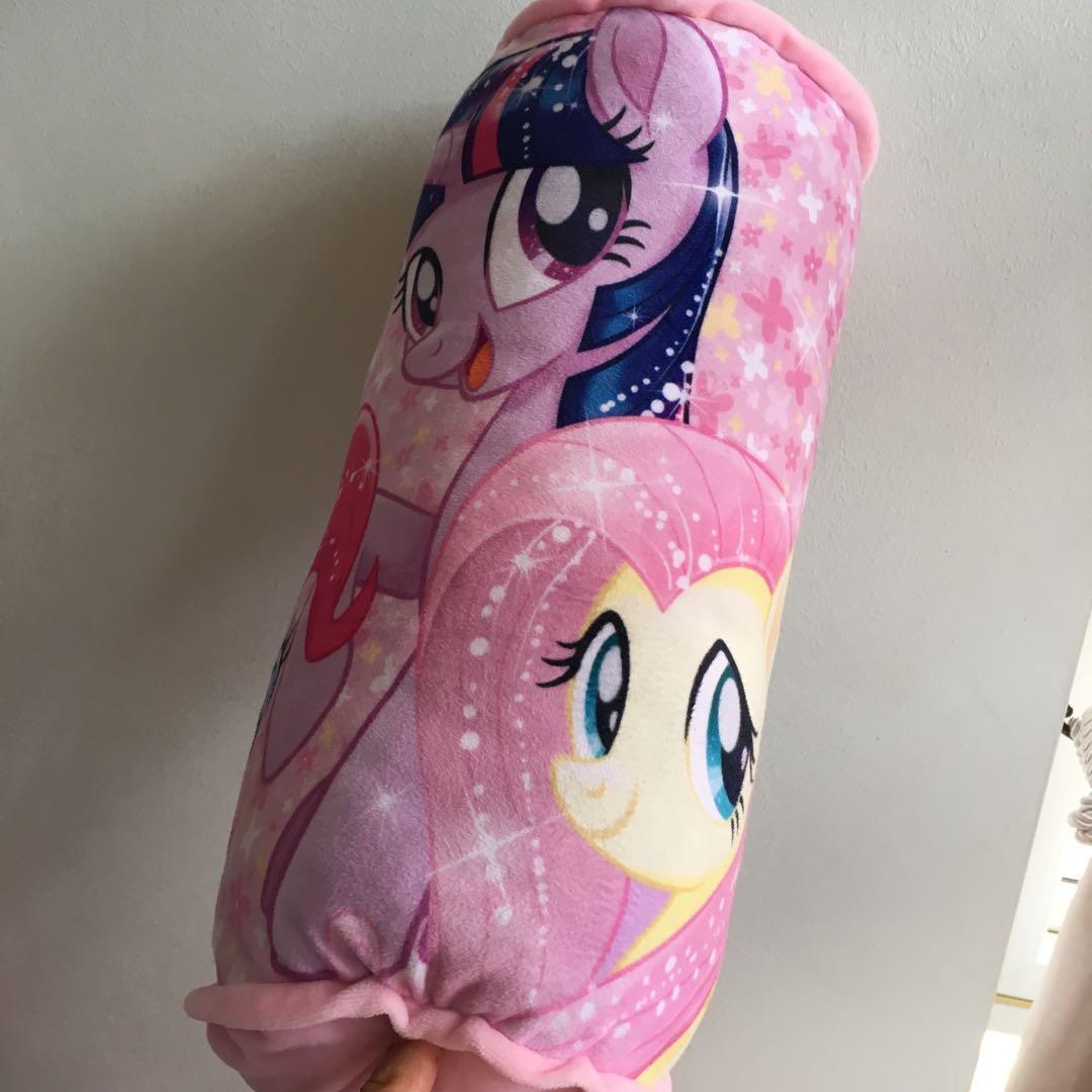 $8 pony bolster / my little pony pillow