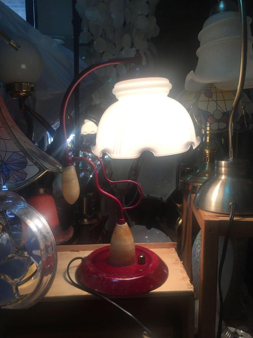 玻璃床頭燈