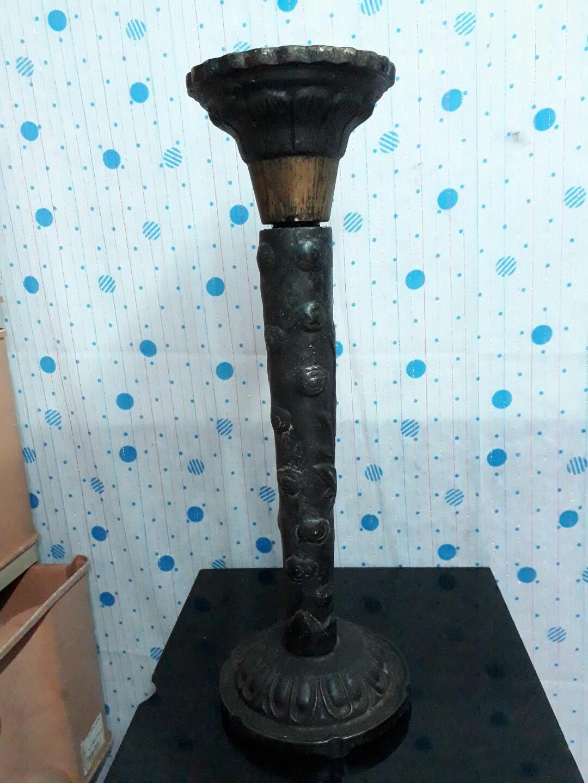西洋骨董 銅器燭台
