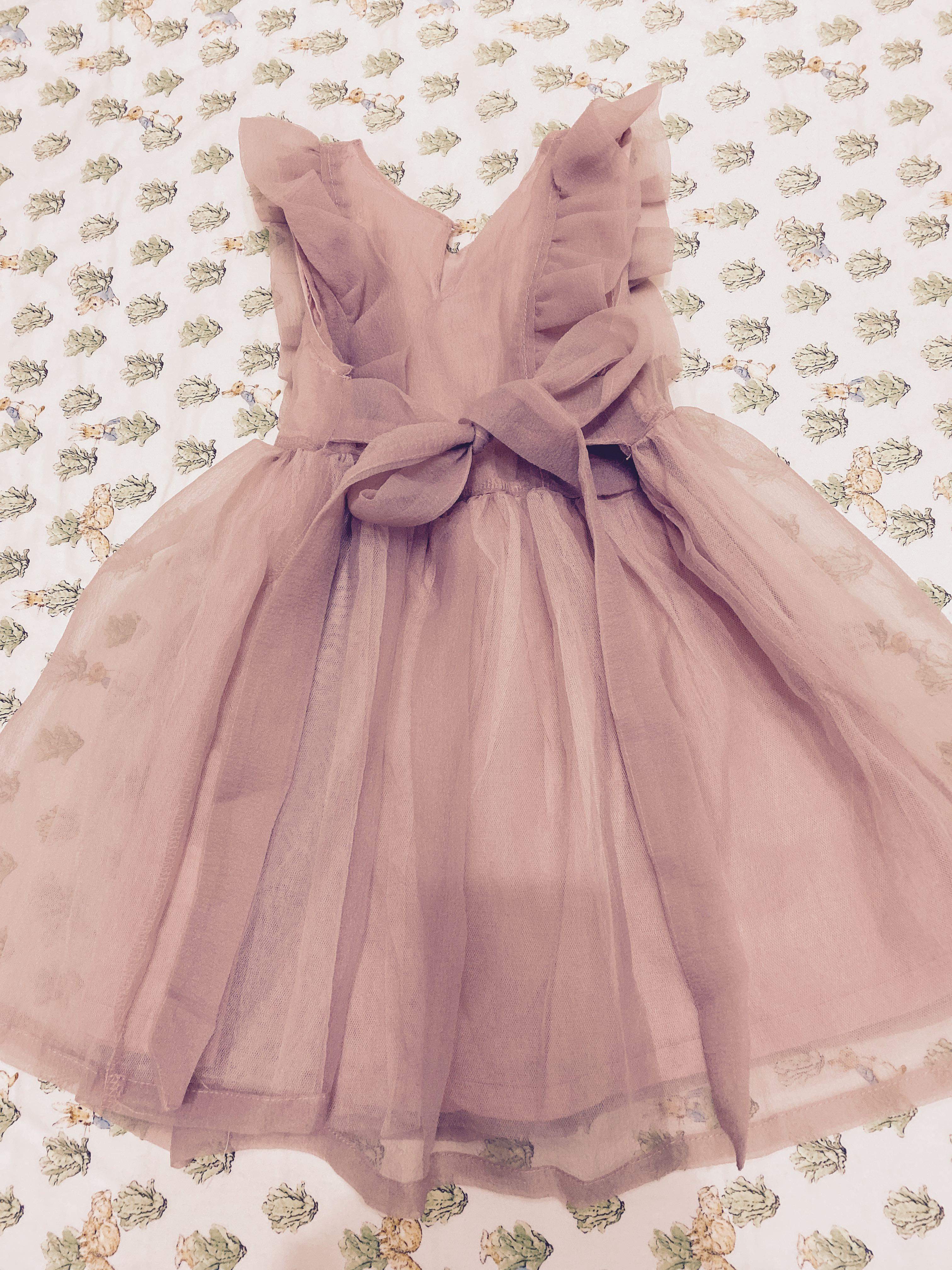 花童洋裝 女童 紗裙洋裝