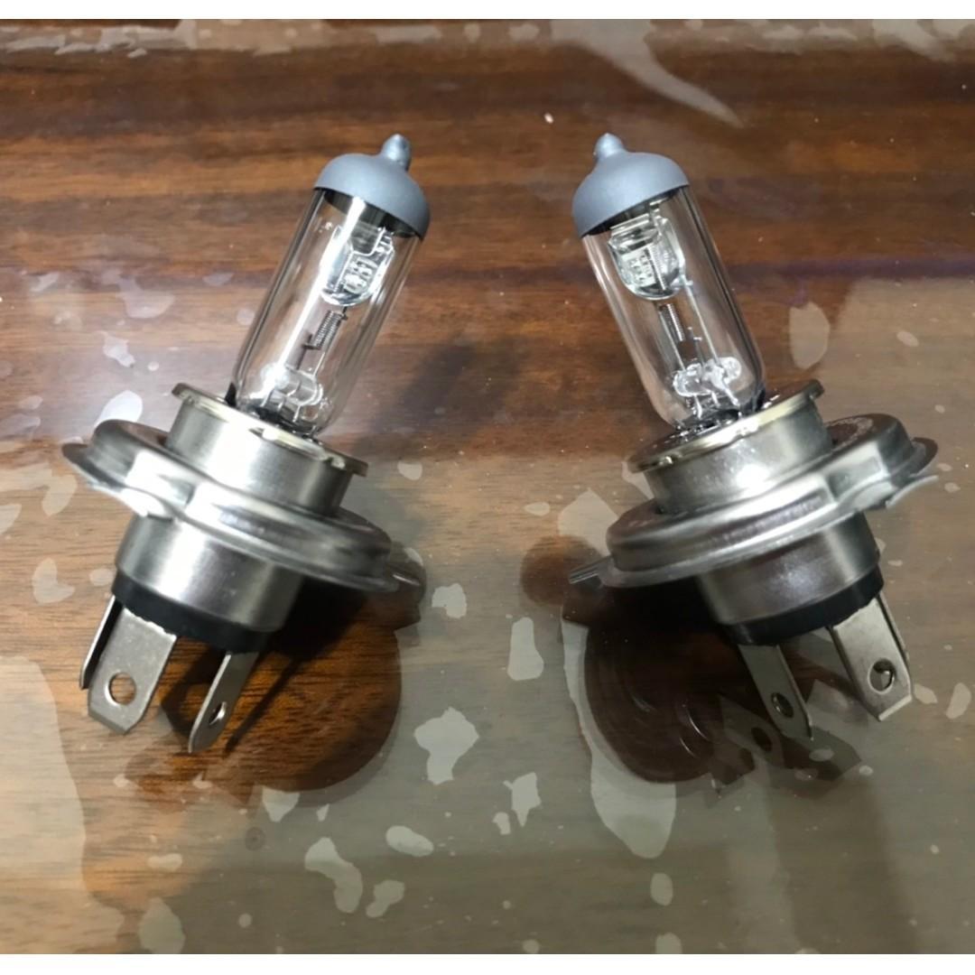 """二手良品 """" 使用一個月 HONDA FIT 原廠 PHILIPS 飛利浦燈泡 H4 """" 售價 458元"""