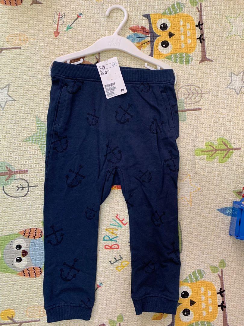 全新 H&M 男童 長褲 1.5-2Y 92cm