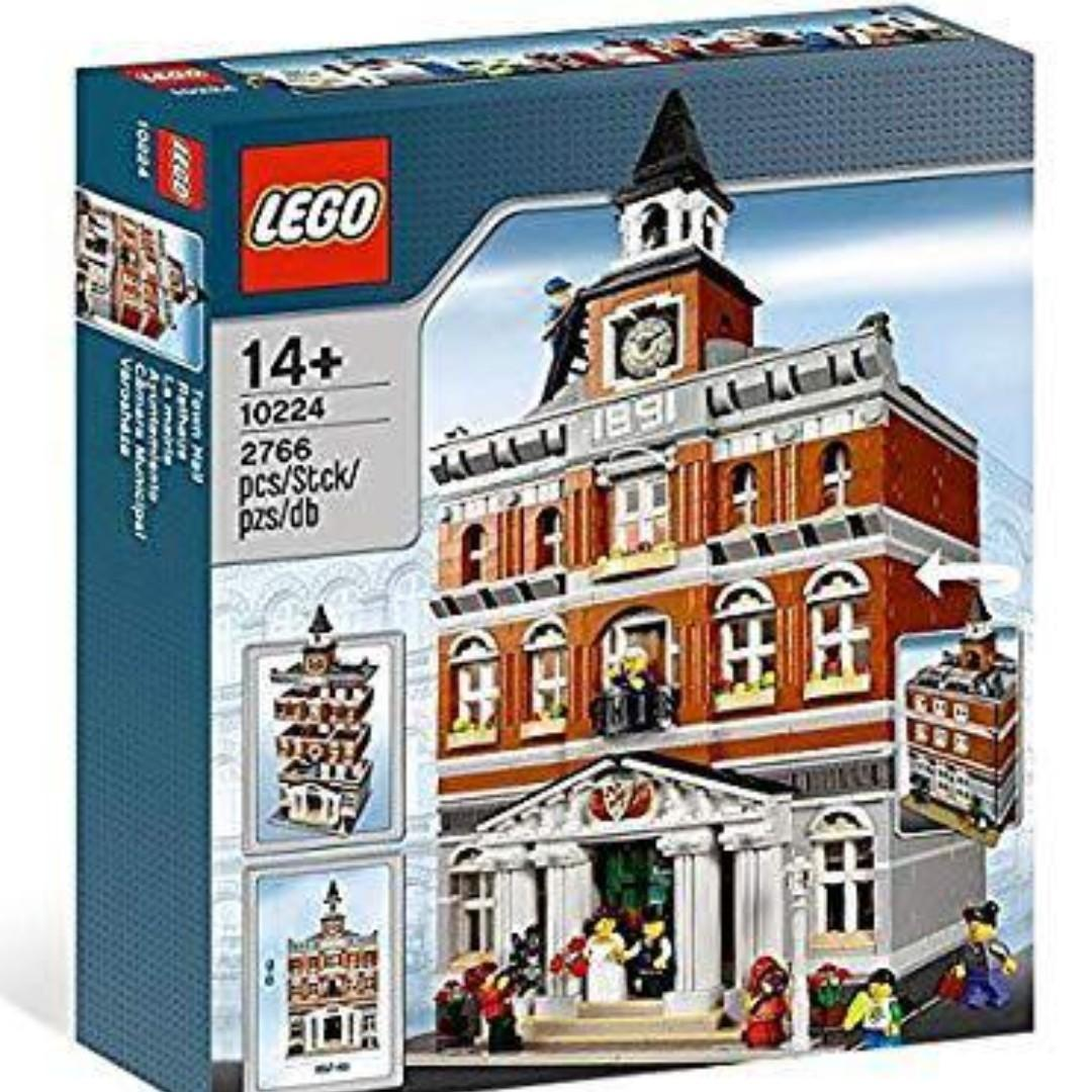全新 Lego 10224 Brand New Sealed Town Hall 市政廳