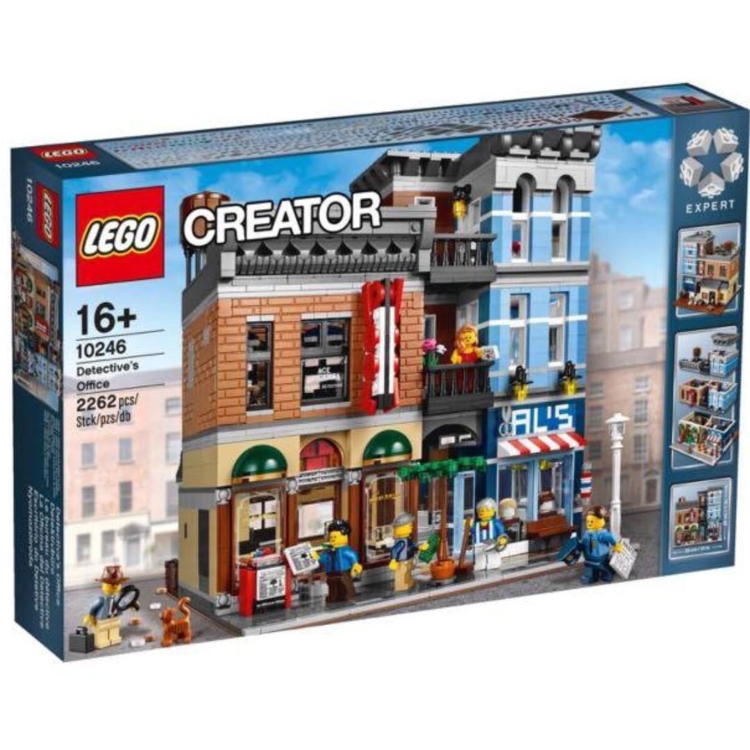 全新 Lego 10246 Brand New Sealed Detentive's Office 偵探社 Great condition