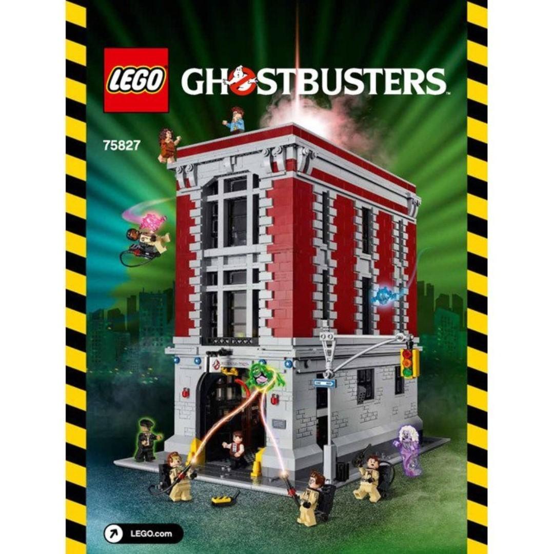 全新 Lego 75827 Ghostbusters 捉鬼敢死隊 Brand New Sealed Great condition
