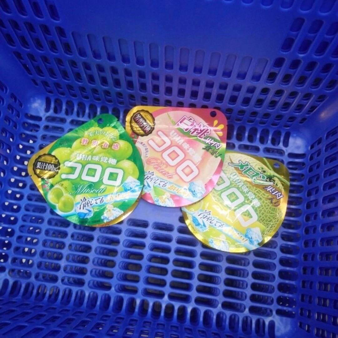 🇯🇵日本代購🇯🇵 UHA 味覺糖 Kororo果汁軟糖(11/4截單)