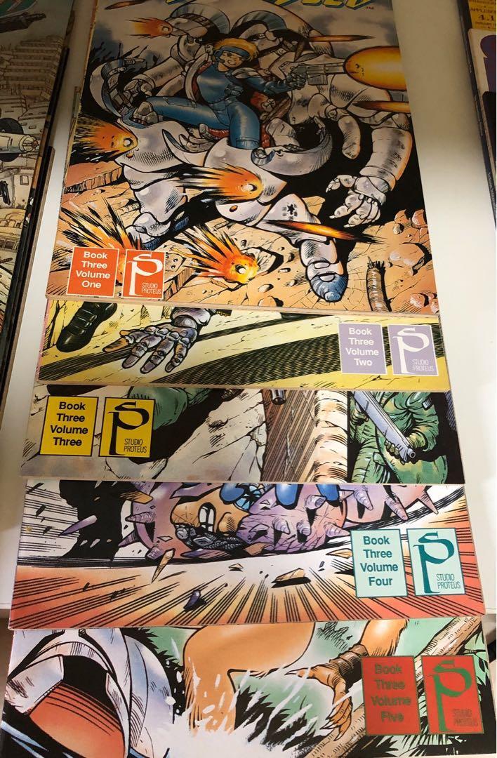 Appleseed Books Stationery Comics Manga On Carousell
