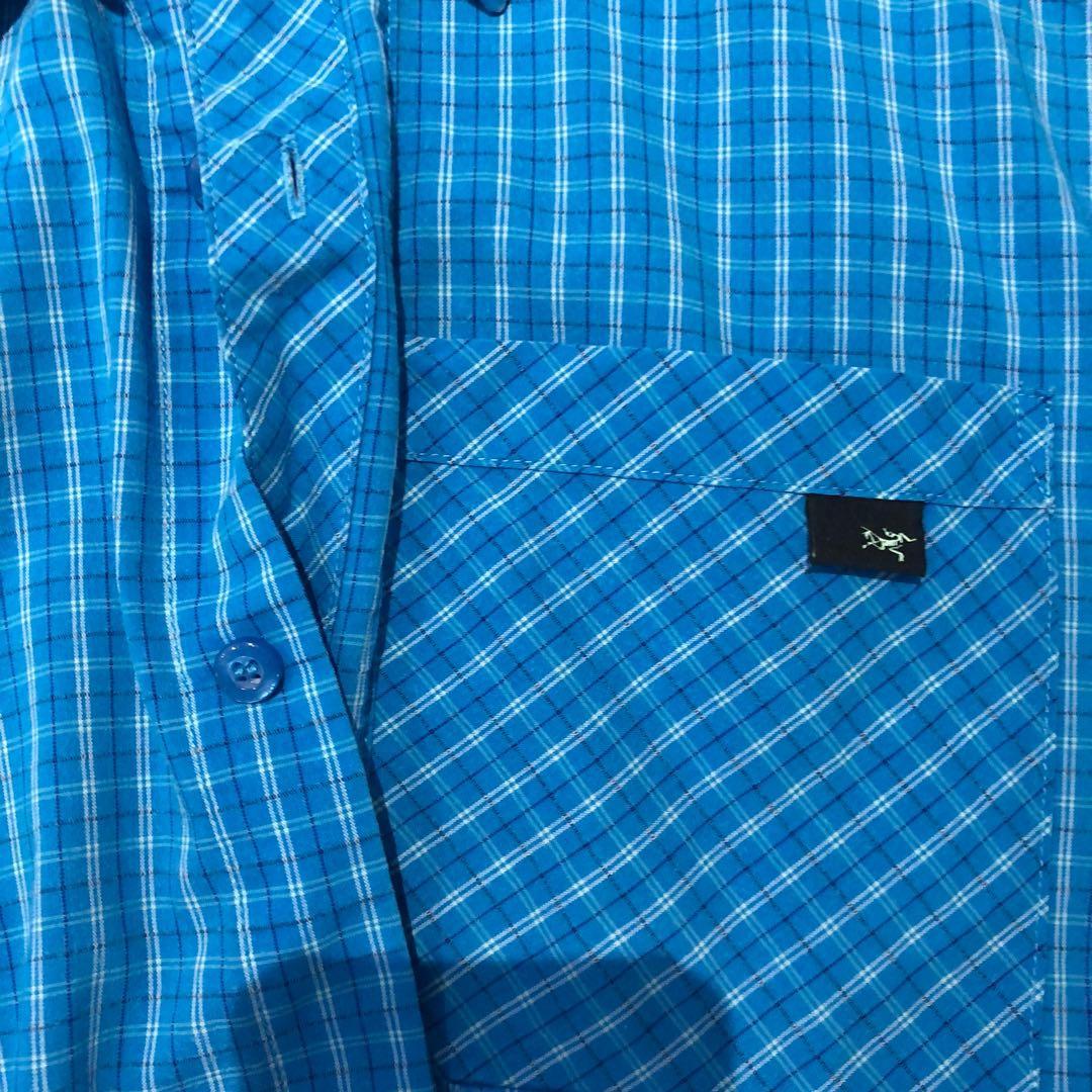 ARC'TERYX Men's Short Sleeve Button Shirt M