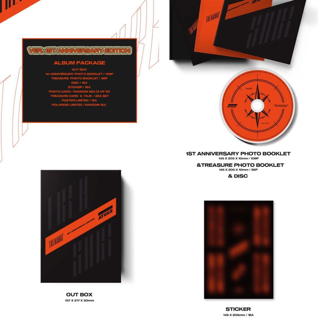 ATEEZ TREASURE EP.FIN : All To Action 1st Anniversary Limited Edition