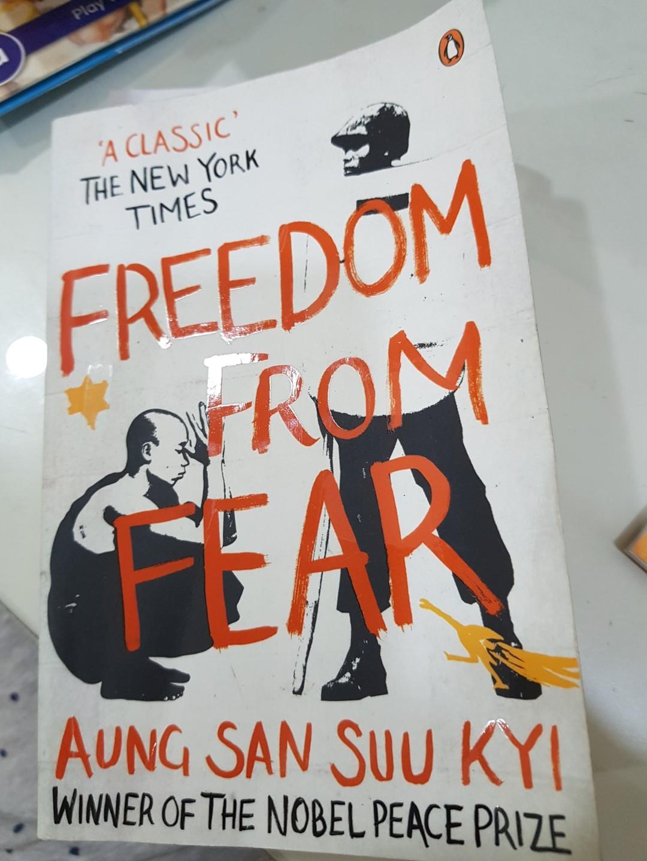 Aung Ssn Suu KyI FREEDOM FROM FEAR
