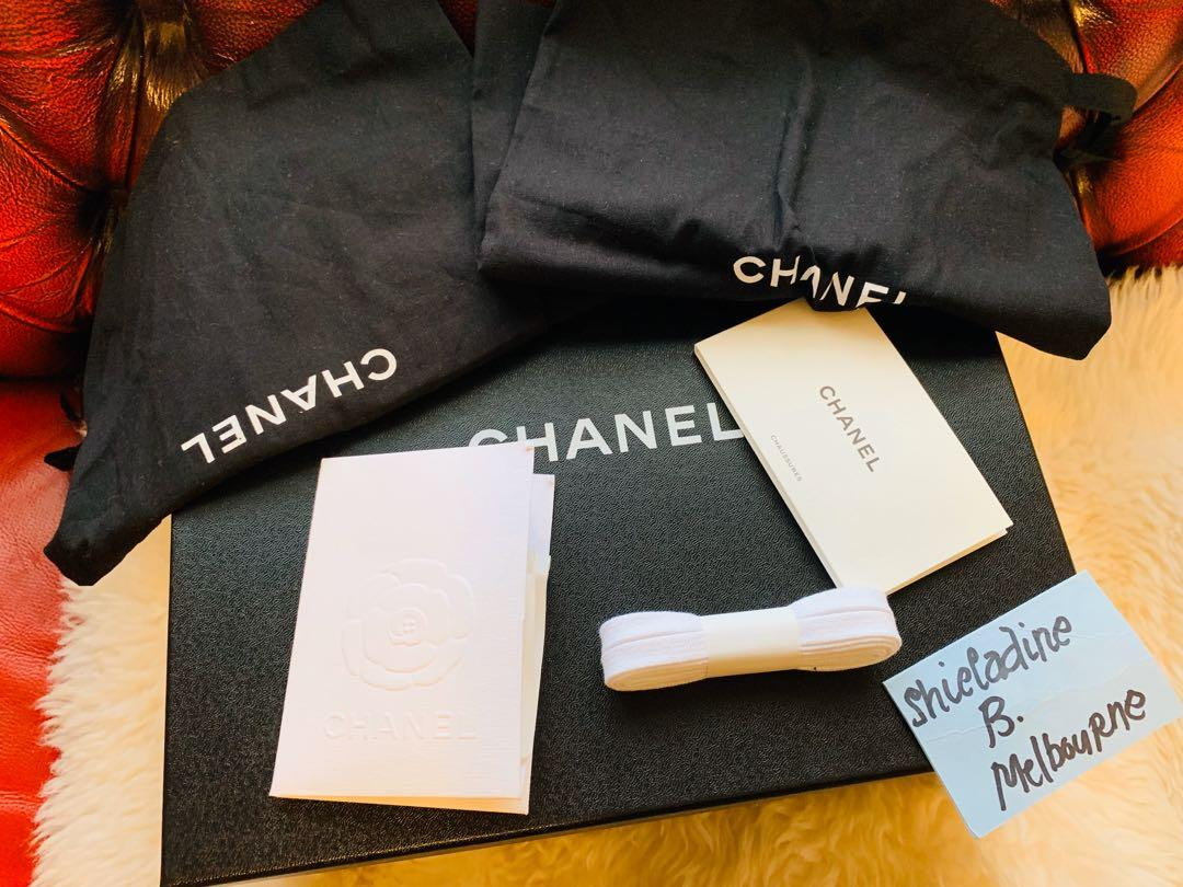 Authentic Chanel sneakers shoes with receipt rrp $1260