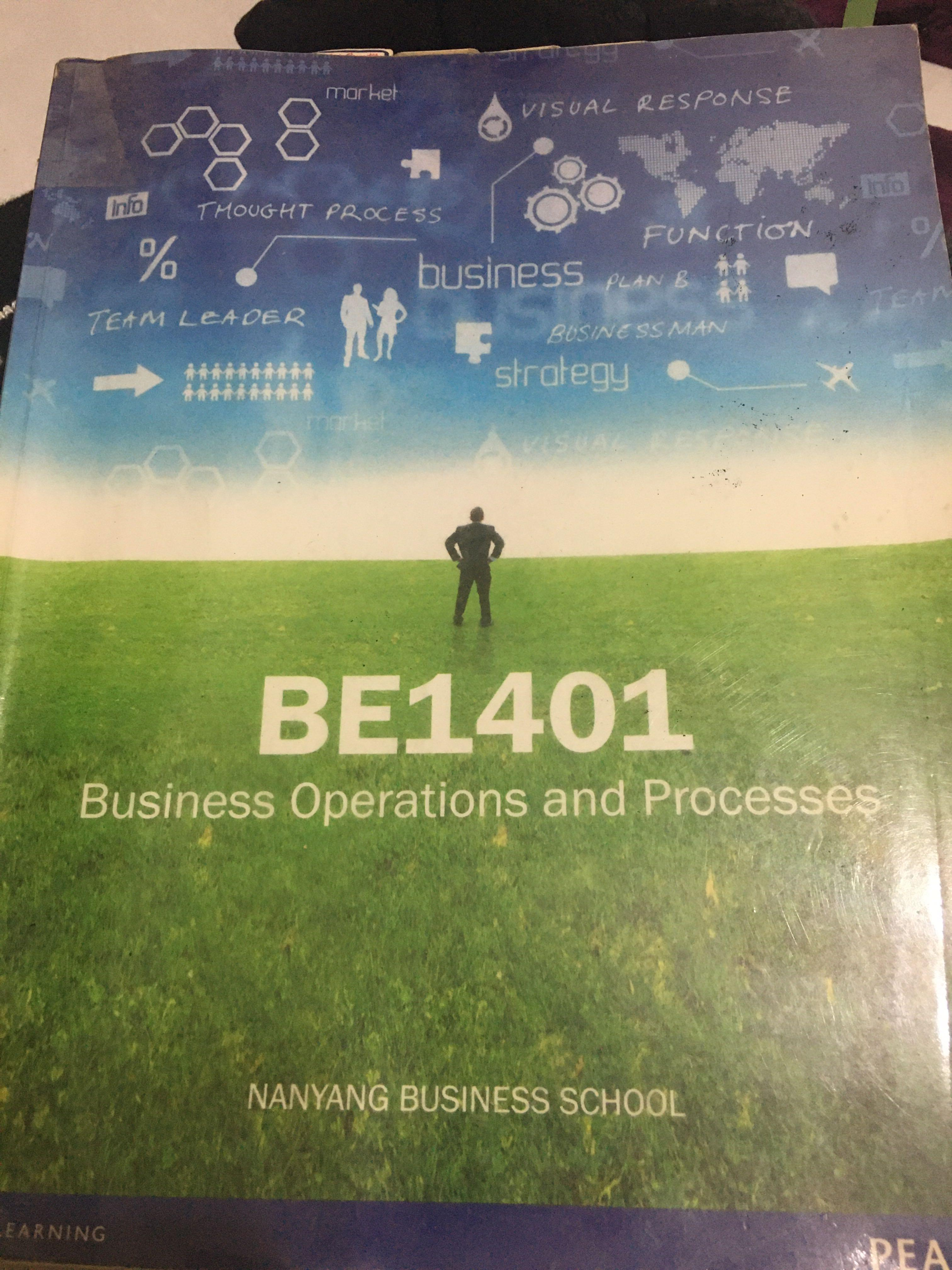 BE1401 Business Operations and Processes