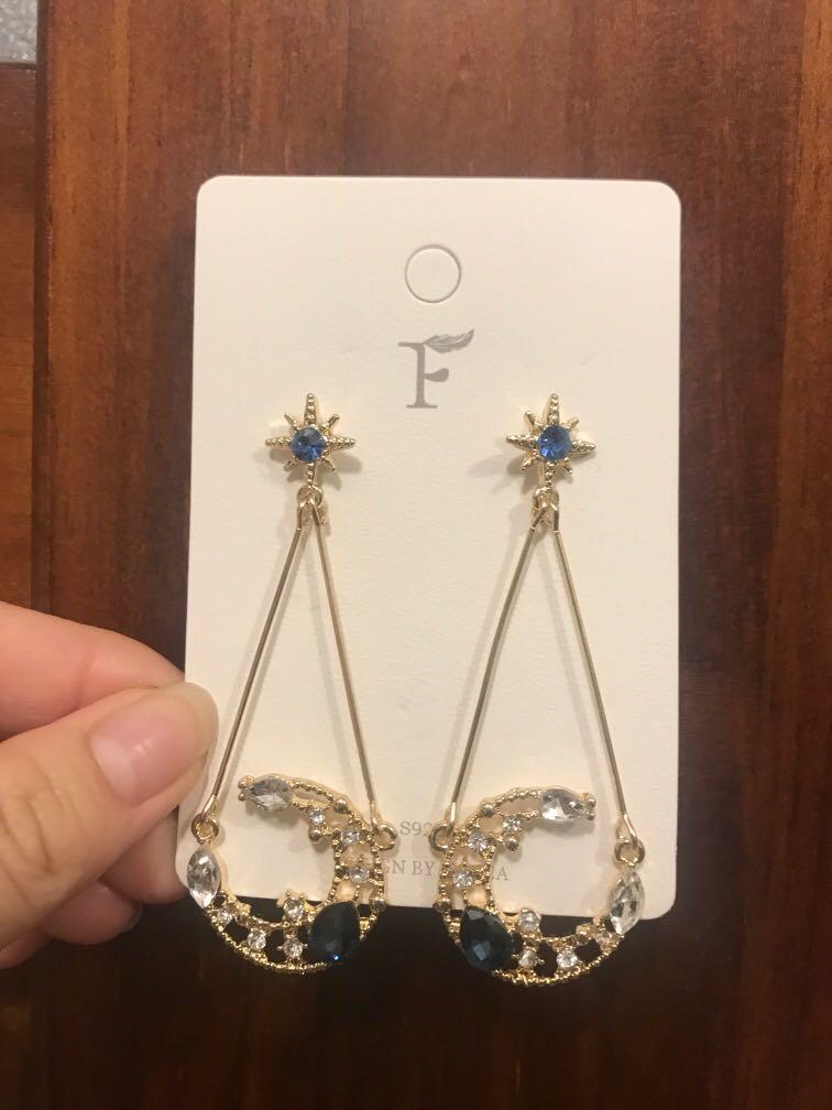 Blue Moon Earrings