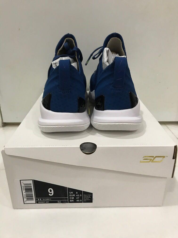 Brand New in Box Under Armour Curry 5 Basketball Shoes